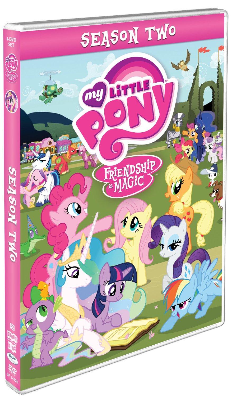 my little pony friendship is magic kausi 2 dvd shout
