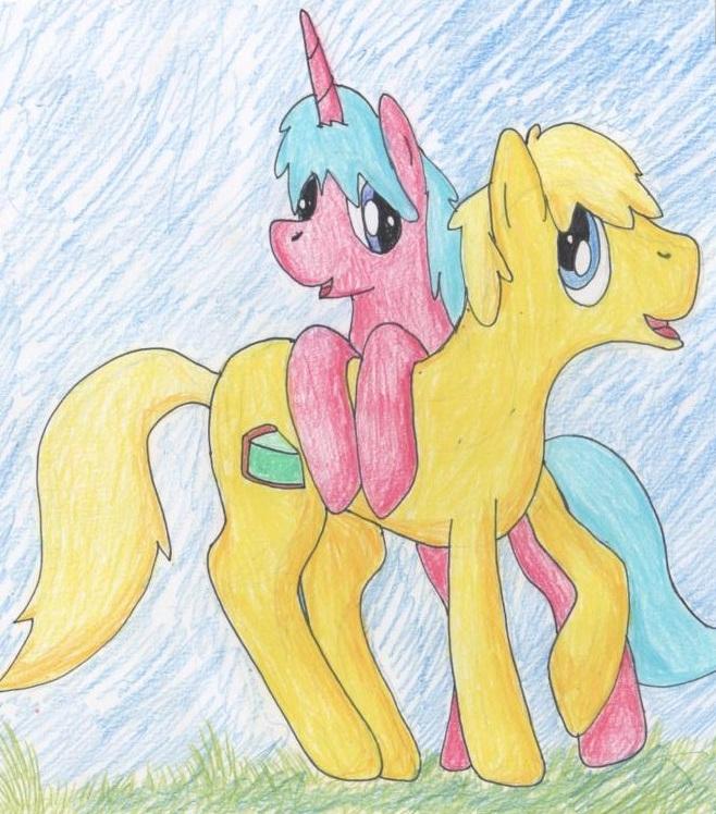 ponies 001